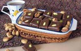 گز شکلاتی مرغوب